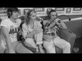 5sta Family о сотрудничестве с певицей Stacy в прямом эфире Love Radio
