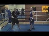 Мастер-класс по боксу - атака первым номером
